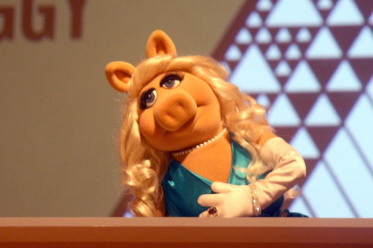 Miss Piggy honored by Sacker Center First Awards